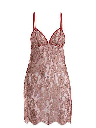 Coco de Mer Fever Slip Dress - Womens - Red