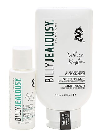 Billy Jealousy White Knight & Liquid Sand Facial Cleaner Duo