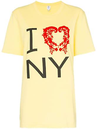 Rosie Assoulin Camiseta I love NY - Amarelo