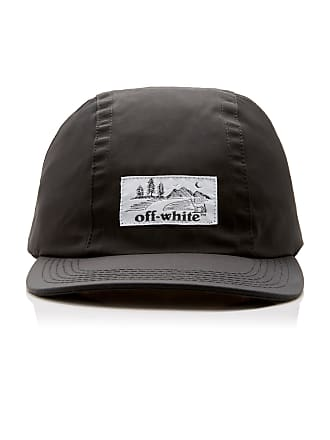 Off-white Embroidered Canvas Baseball Cap