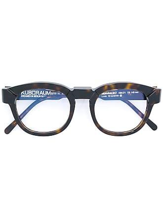 Kuboraum Armação de óculos tartaruga - Marrom
