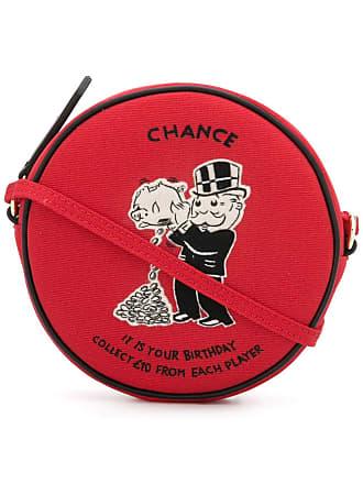 Olympia Le-Tan Bolsa transversal Monopoly Chance - Vermelho