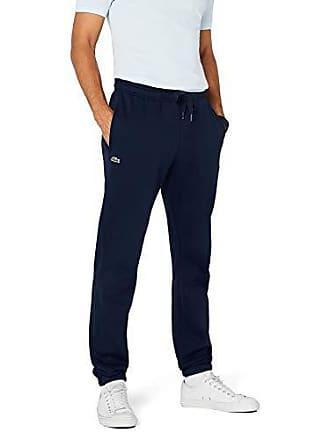 a023f53362 Lacoste Regular - Pantalon de sport - Relaxed - Homme - Bleu (Navy Blue)