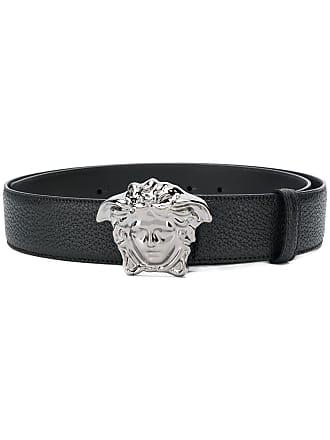 Versace Medusa logo belt - Brown