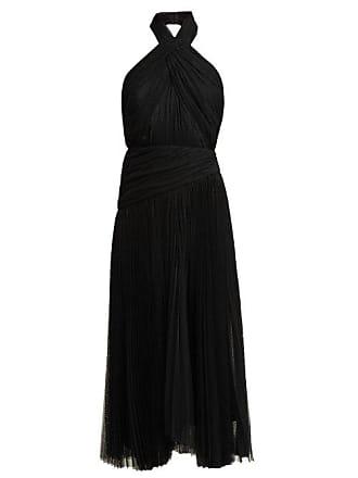 Maria Lucia Hohan Nina Halterneck Tulle Dress - Womens - Black