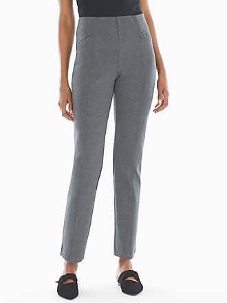 Soma Style Essentials Smoothing Ponte Pants Heather Quartz, Size XS