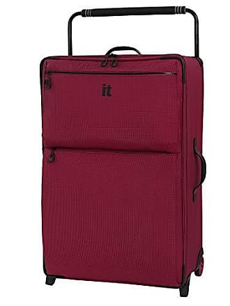 IT Luggage IT Luggage 32.7 Worlds Lightest Los Angeles 2 Wheel, Persian Red