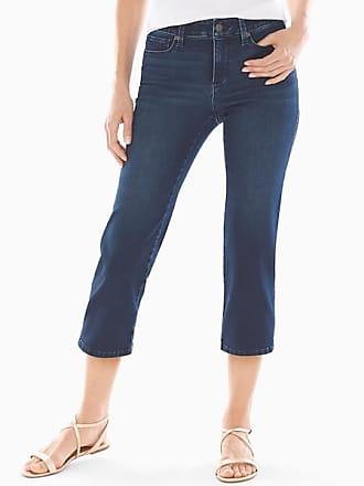 Soma Style Essentials Slimming 5 Pocket Crop Jeans, Dark Wash, Size XXL