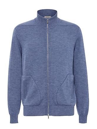 Fioroni Cashmere High-Necked Zip Cashmere Cardigan