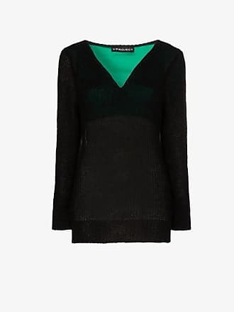 Y / Project Y/Project V-Neck Knitted Jumper