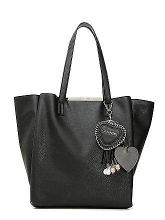 255d9ed646a4 Cafènoir CAF NOIR LBZ001 black shoulder bag women shopping two handles