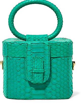 Ximena Kavalekas Angeles Python Tote - Emerald