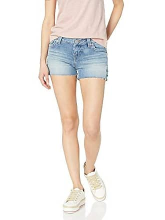 456351408b True Religion Womens Keira Laced Short, Kickapoo Blue, 32