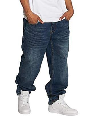22b6300ffba3f2 Ecko Ecko Unltd. Herren Loose Fit Jeans Hang blau W 36 L 34