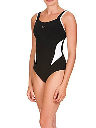 8c0a5002e82ee Arena Womens Bodylift Makimurax Tummy Control Swimsuit, Black/White, 32