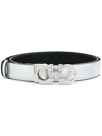 Salvatore Ferragamo reversible Gancini belt - Black