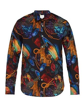 Paul Smith Explorer Print Cotton Shirt - Mens - Multi