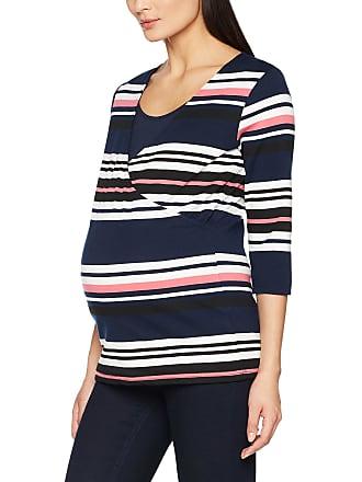 2cd6502b85a2f Mama Licious Womens Mldione Tess 3/4 Jersey Top Nf Maternity Long Sleeve,  Multicoloured