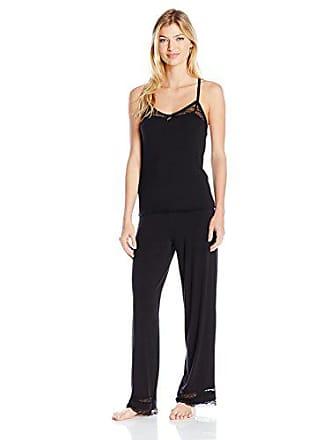 7e788fac6fe6 Honeydew Intimates Intimates Womens Lazy Sunday Pajama Set, Black, Medium