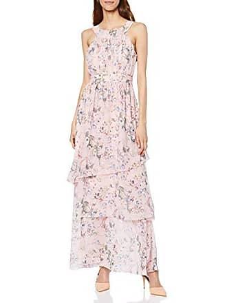 cf1d158cd046 Vila Vinola S L Maxi Layer Dress ZA Vestito Elegante Mehrfarbig (Rose Smoke
