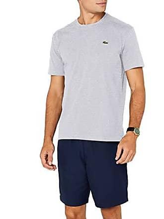 35cccc60997ce Lacoste TH7618 - T-Shirt - Homme - Gris (Argent Chiné CCA) -