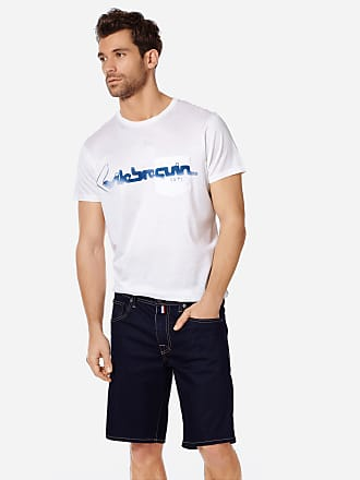 Vilebrequin Men Ready to Wear - Men 5-Pocket Denim Bermuda Shorts - BERMUDA - GARONNE - Blue - 36 - Vilebrequin
