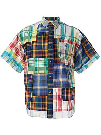 White Mountaineering Camisa xadrez - Estampado