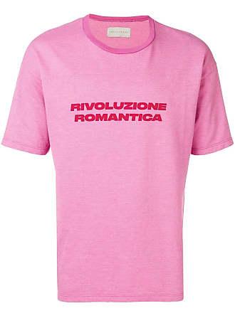 Paura Camiseta mangas curtas com slogan - Rosa