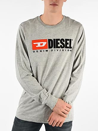 Diesel Embroidered T-JUST-LS-DIVISION T-Shirt size Xxl