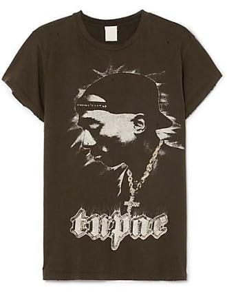 ef0340c34 MadeWorn Tupac Distressed Printed Cotton-jersey T-shirt - Black