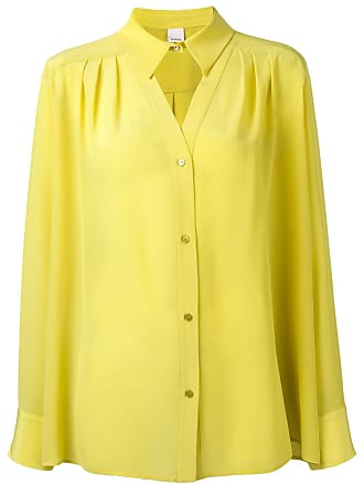Pinko neck cut-out detail shirt - Green