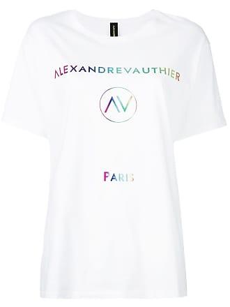 Alexandre Vauthier Camiseta com logo - Branco