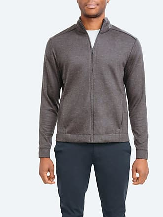 Ministry of Supply Mens Composite Full Zip - Grey size XXL