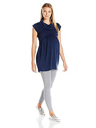 Ripe Maternity Womens Maternity Melange Tunic, Navy, Small