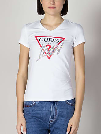 Guess T-SHIRT ICON STRASS DONNA