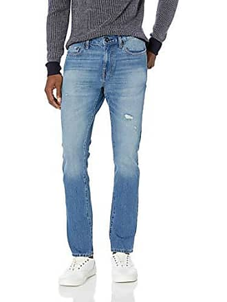 Goodthreads Mens Skinny-Fit Jean, Light wash Distressed, 28W x 30L