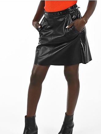 Drome Leather Midi Skirt size M