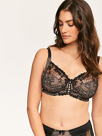 Pour Moi Sofia Lace Embroidered Side Support Bra