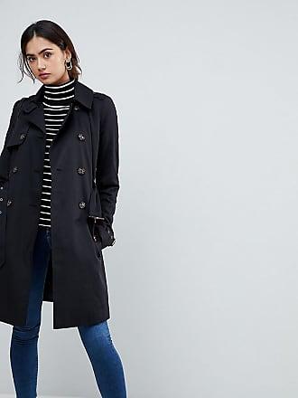 Asos Tall ASOS DESIGN Tall - Trench-coat classique - Noir a1bf7d70c3c7