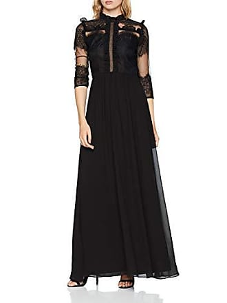 d8c4b4a479a3 Chi Chi London Feina Vestito Elegante, Nero (Black BK), 38 Donna