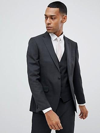 Moss London - Veste de costume slim - Anthracite - Gris 5609f8e74eb