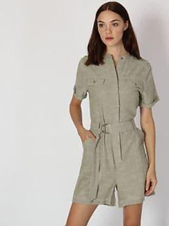 Pepe Jeans London Jumpsuit con Diseño Jaspe<br> Verde Olivo