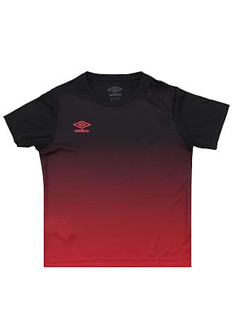 5f764b6afd655 Umbro Camiseta Umbro Menino Preta Vermelha