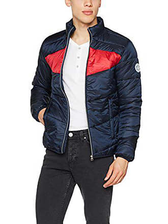 902ea4a7b306a Jack   Jones Jorzoom Light Puffer Jacket, Blouson Homme, Bleu (Total  Eclipse Checks