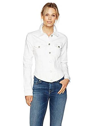 William Rast Womens Willliam Rast-Sussex Denim Jacket, Star White, L