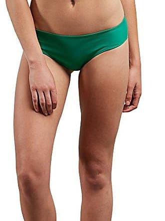 7bdde148019 Volcom Womens Simply Solid Cheeky Swimsuit Bikini Bottom, Green Spray,  Medium