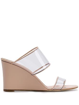 PARIS TEXAS open toe wedge sandals - Pink