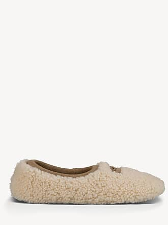 UGG Womens Birch Slippers Natural Size 7 Sheepskin From Sole Society