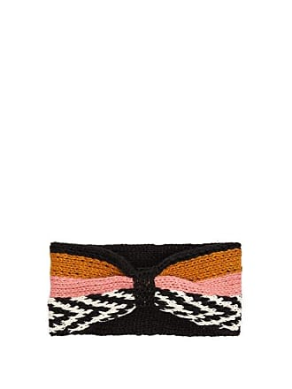 Missoni Striped Knitted Headband - Womens - Pink