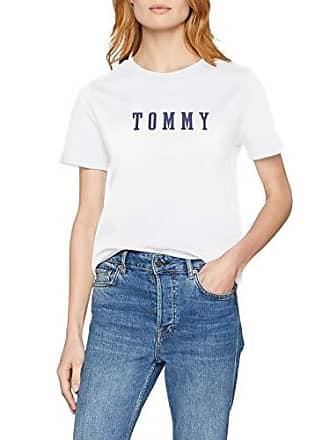 41c11d98061 Tommy Hilfiger Holli C-NK Tee SS - T-Shirt - Femme - Blanc